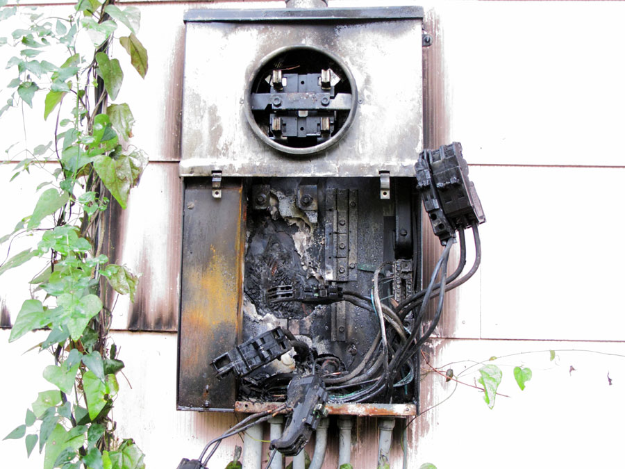 Is Your Electric Panel A Fire Risk